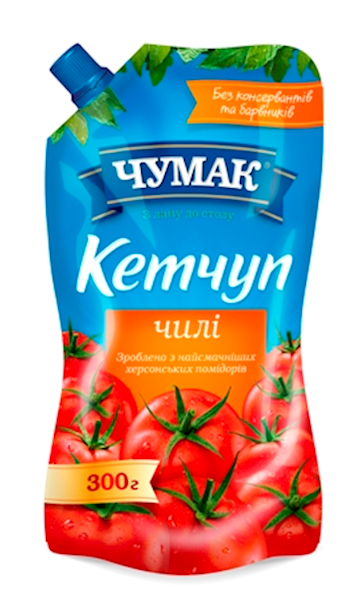 Picture of  Ketchup Chumak Chili 300g