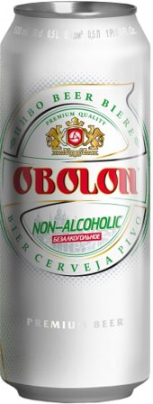 Picture of  Beer Non-alkoholik OBOLON cans