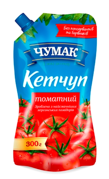 Picture of  Ketchup Chumak Tomato 300g