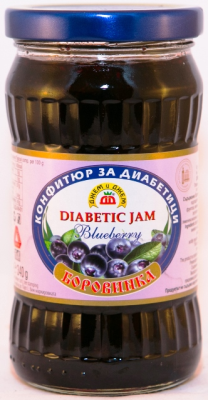 Picture of  Jam Diabetic Blueberry